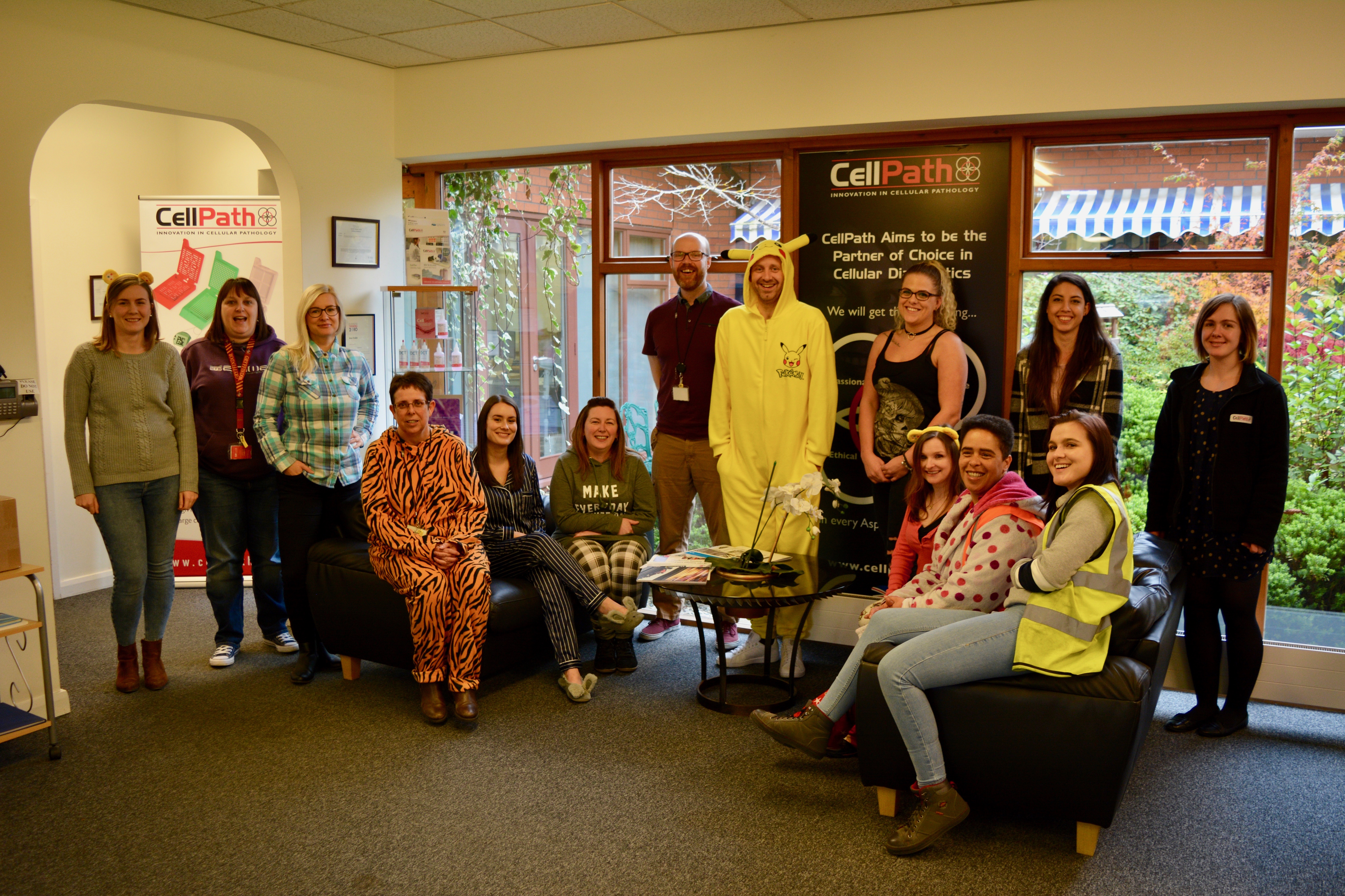 CellPath supports BBC Children in Need 2017