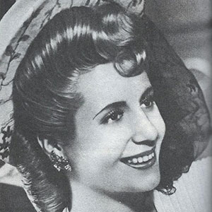 Mädel Eva Peron
