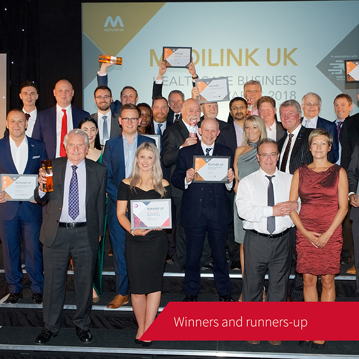All the winners and runners up