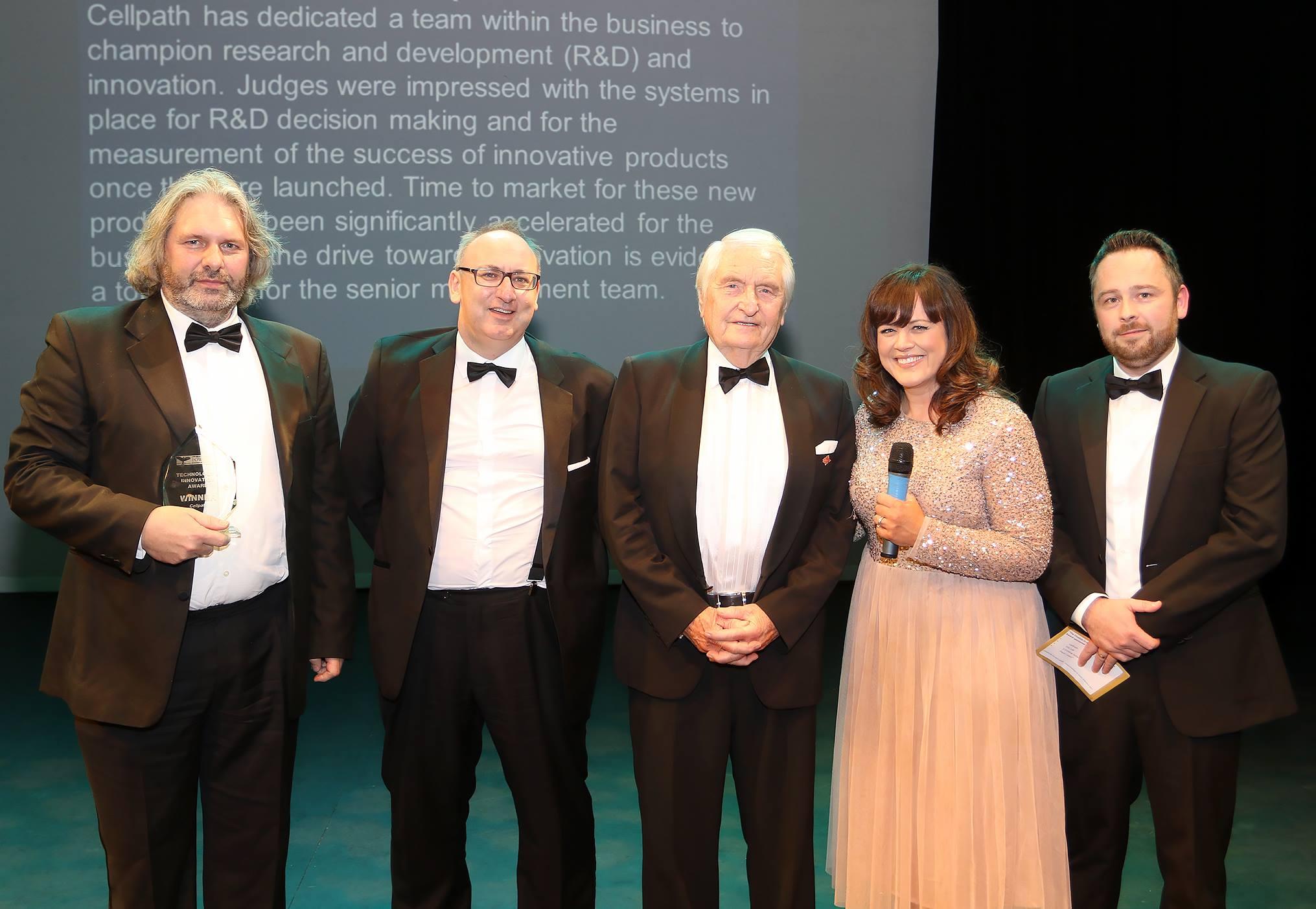 Powys Business Awards CellPath