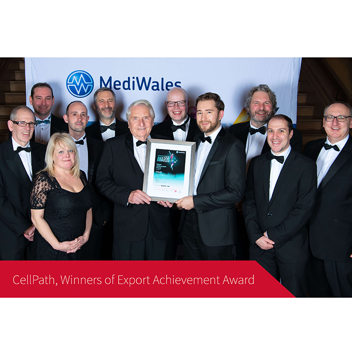 CellPath Winners of Export Achievement Award