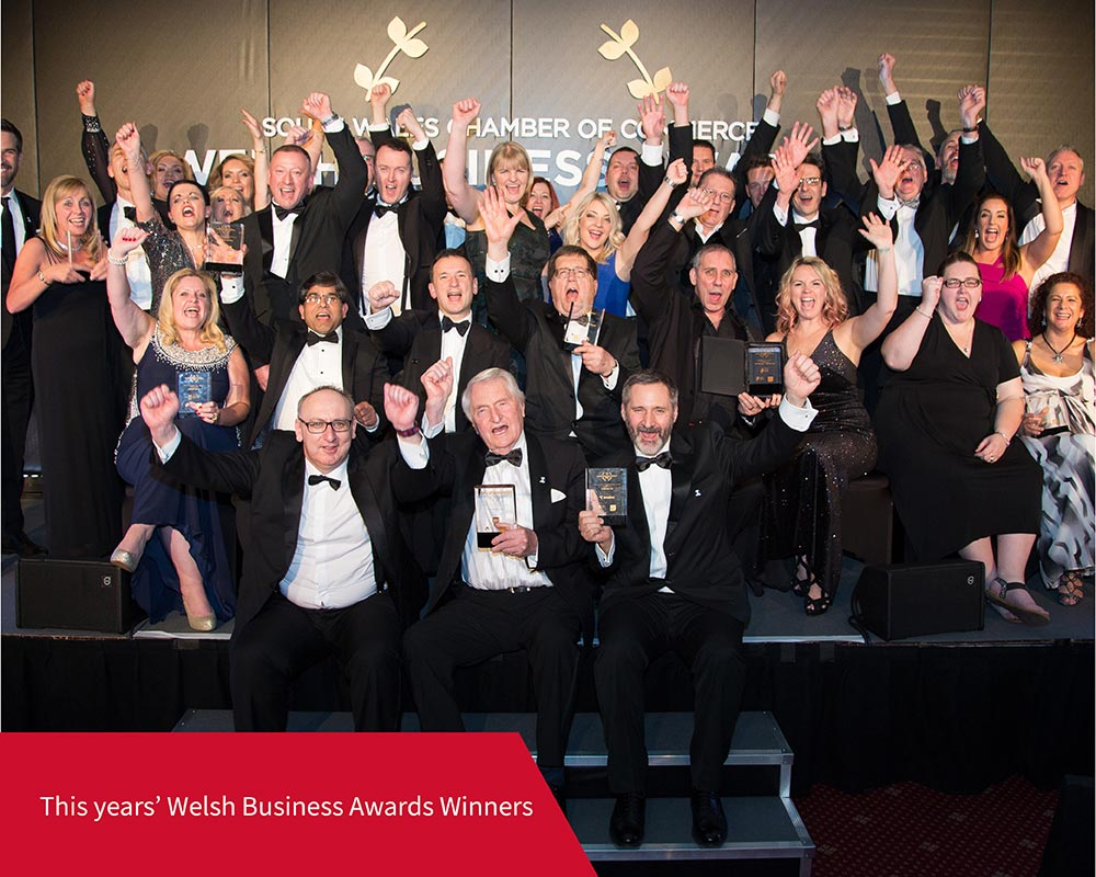 Welsh Business Awards Winners 2018