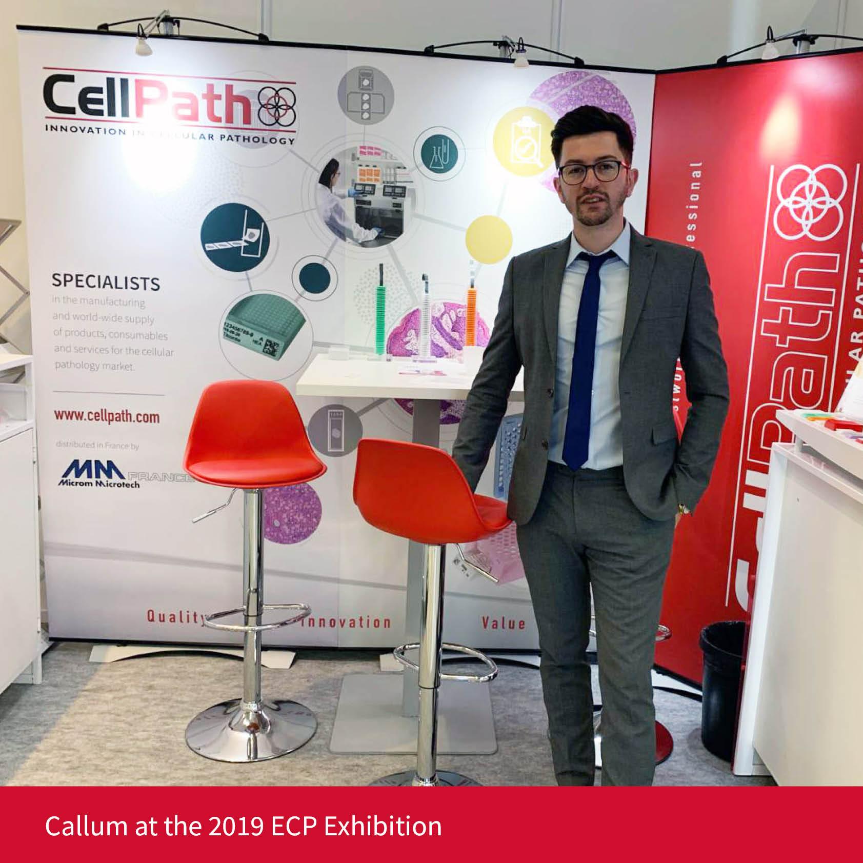 Callum at the 2019 ECP Exhibition