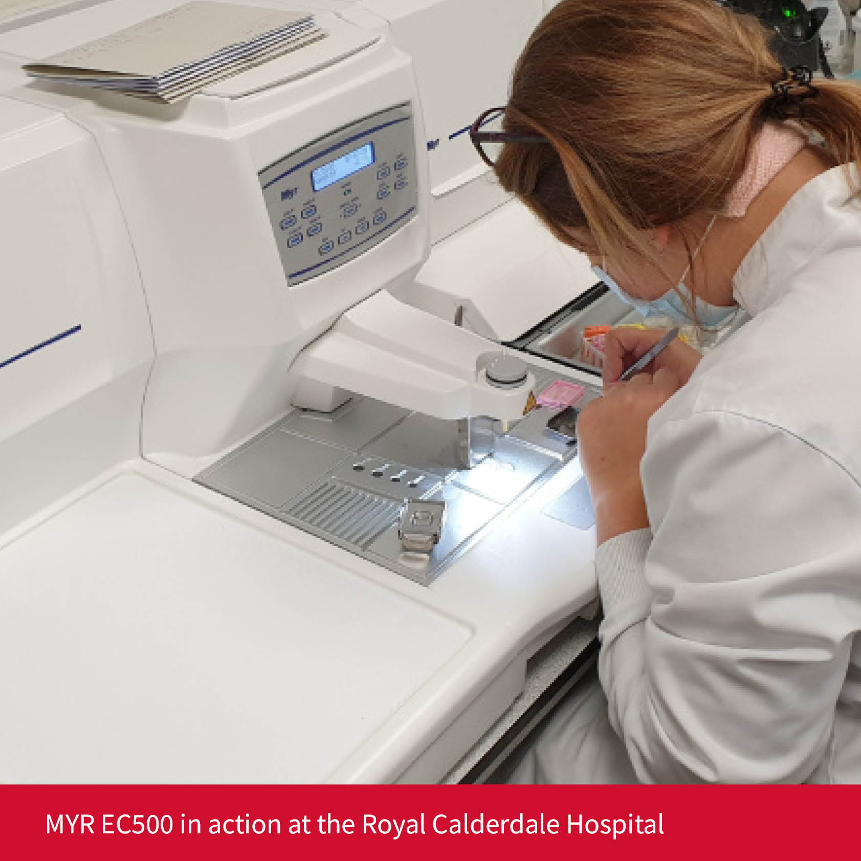 EC500 in action at the Royal Calderdale Hospital